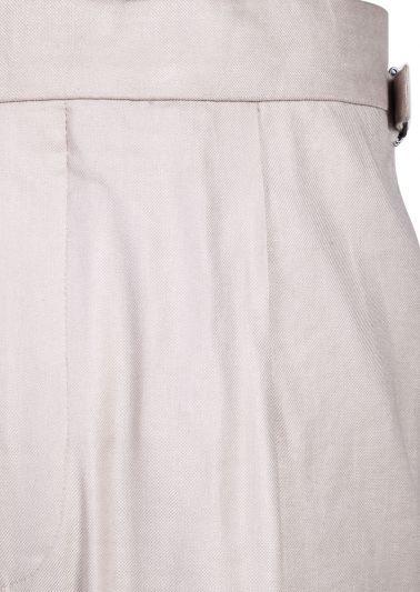 Carson Trousers | Beige Fine Twill