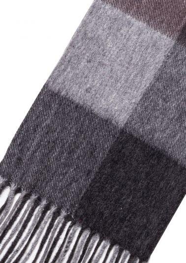 Cashmere Scarf | Grey Fawn Tartan