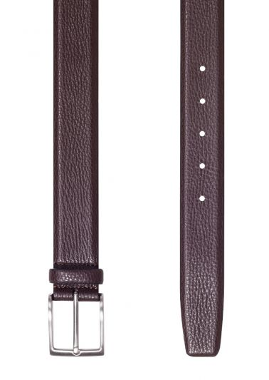 Brown Buffalo Calf Belt