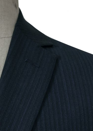 Bondi Suit | Navy Shadow Stripe