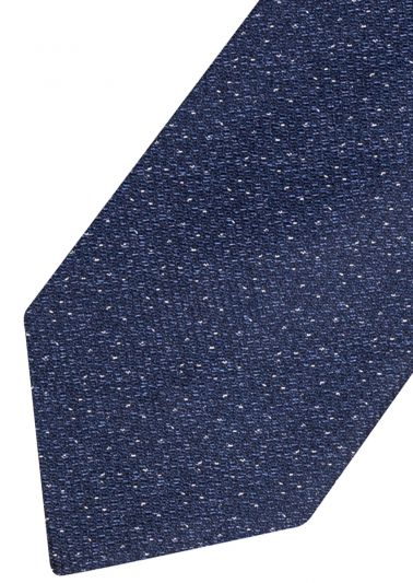 Silk Tie | Blue with pattern