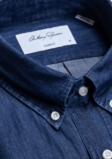Alden Casual Shirt | Blue Denim