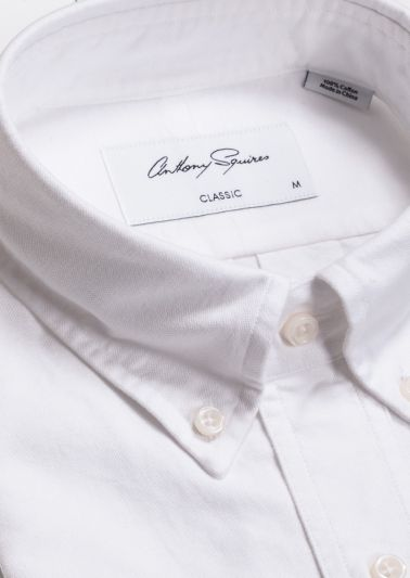 Alden Casual Shirt | White