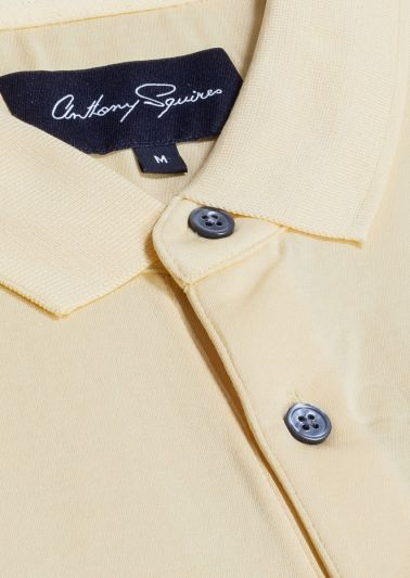 Adam Polo Shirt | Yellow