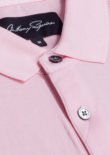 Adam Polo Shirt | Pink