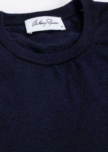 Oscar Crew Neck | Navy