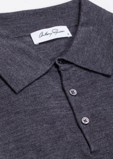 Kelvin Polo Neck | Charcoal