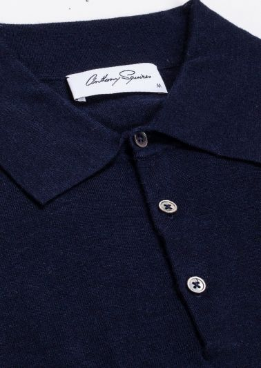 Kelvin Polo Neck | Navy