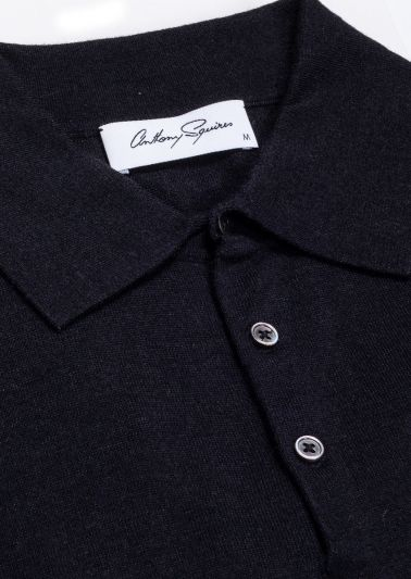 Kelvin Polo Neck | Black