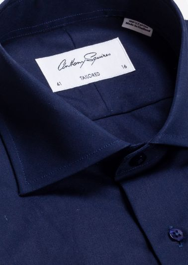 Nigel Business Shirt | Navy
