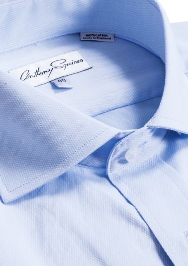 Bruce Business Shirt | Sky Blue