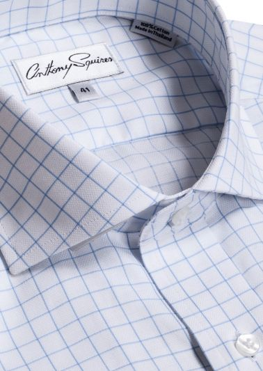 Jack Business Shirt | Blue Check
