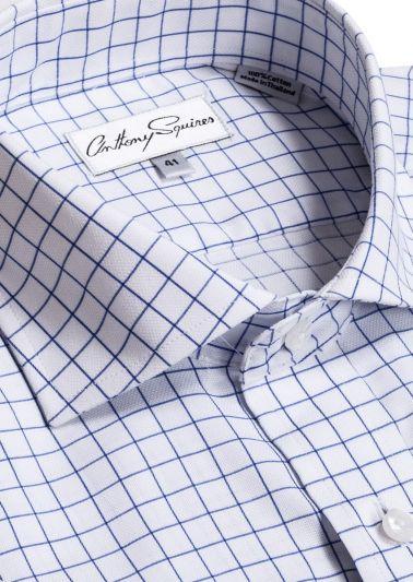 Jack Business Shirt | Navy Check