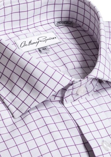 Jack Business Shirt | Lilac Check
