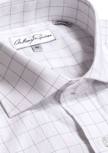 Jack Business Shirt | Navy Check