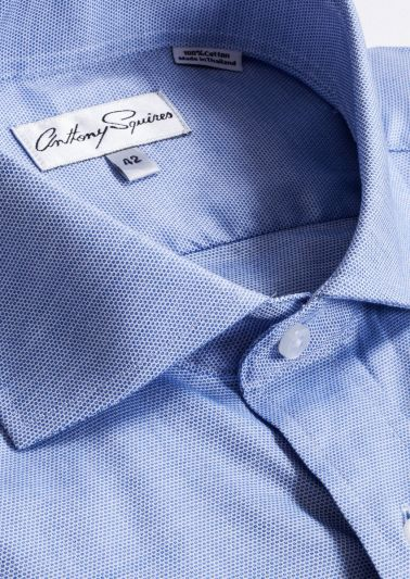 Jack Business Shirt | Blue Microdesign