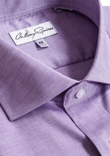 Jack Business Shirt | Lilac Microdesign