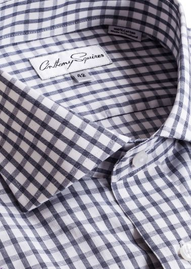 Jack Business Shirt | Grey Check