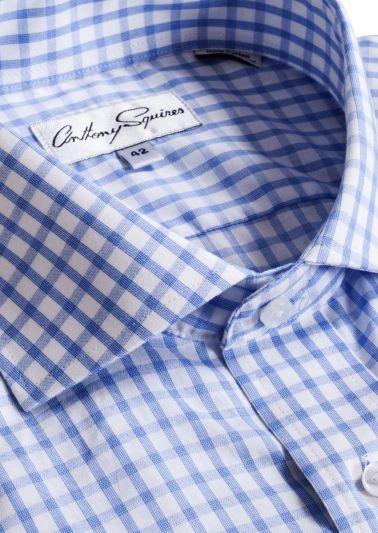 Jack Business Shirt | Blue Check