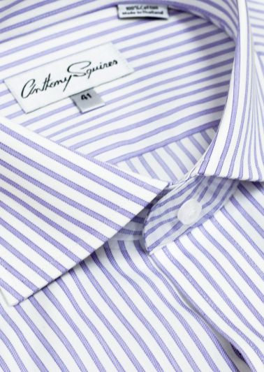 Jack business shirt | Lilac Stripe