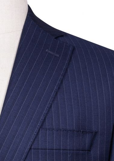 Brighton+ Suit | Navy Shadow Stripe