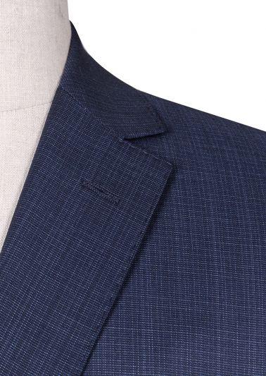 Bondi Suit | Blue Tonal Check