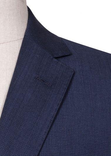 Bondi Suit | Navy Micro Check