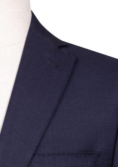 Brighton Suit | Navy Microdesign
