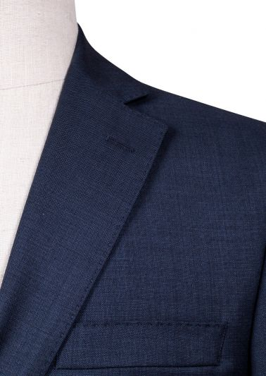 Brighton Suit | Blue Sharkskin