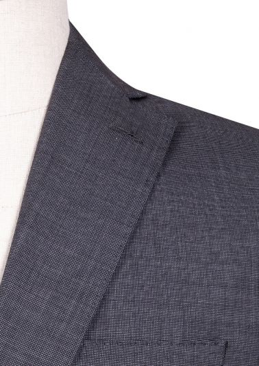 Brighton Suit | Mid Grey End-on-end