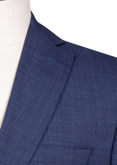 Brighton Suit | Blue End-on-end