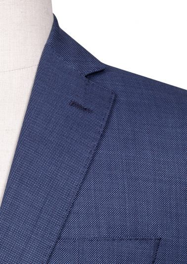 Brighton Suit | Blue Birdseye