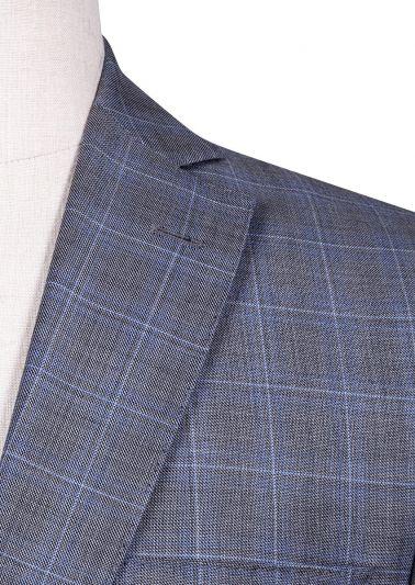 Brighton Suit | Mid Grey Sharkskin Check
