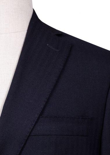 Brighton Suit | Dark Navy Stripe