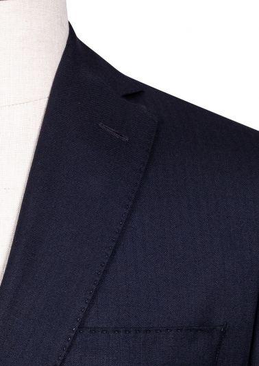 Brighton Suit | Navy Herringbone