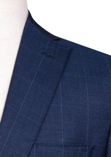 Brighton Suit   Navy Windowpane