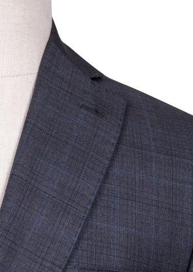 Brighton Suit | Mid Grey Windowpane