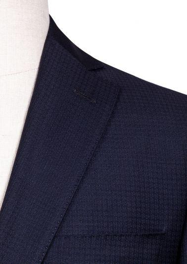 Brighton Suit | Navy Tonal Stripe