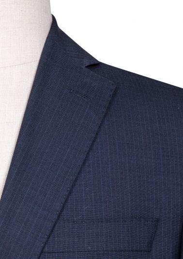 Brighton Suit | Navy Minicheck
