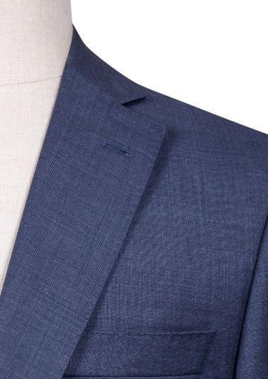 Brighton Suit | Blue Sharkskin
