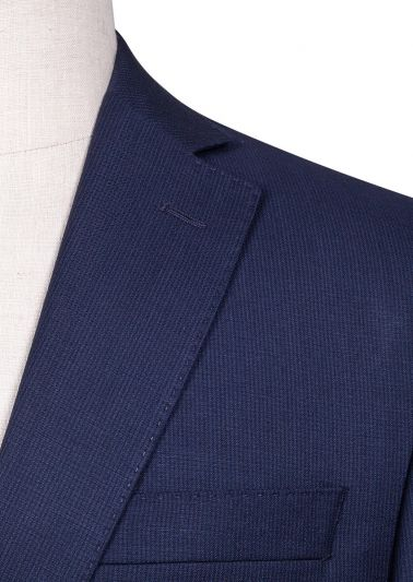 Brighton Suit | Blue Microdesign