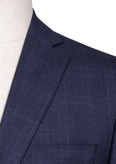 Brighton Suit | Navy Check