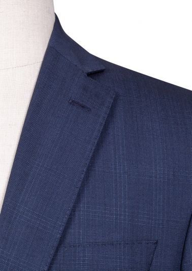 Brighton Suit | Blue Check