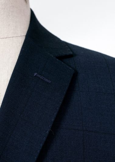 Bondi Suit | Navy Tonal Check